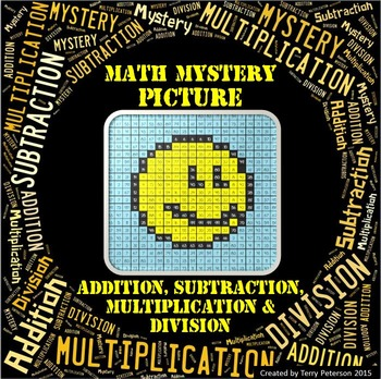 Math Mystery Emoji #10 Picture Addition Subtraction Multiplication Division