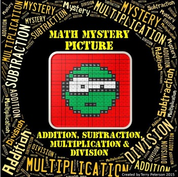 Math Mystery Emoji #5 Picture Addition Subtraction Multiplication Division