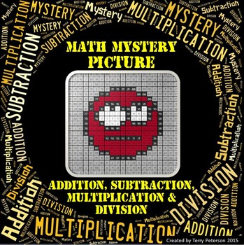 Math Mystery Emoji #9 Picture Addition Subtraction Multiplication Division