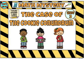 Math Mystery The Case of the Christmas Cookies Grade 3