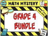 Math Mystery Bundle Grade 4