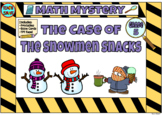 Math Mystery The Case of the Sneaky Snowman Grade 5