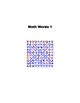 Math Mystery Word Search (with secret messages!)