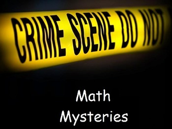 Math Mystery decimal and fraction equivalents