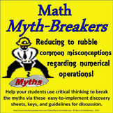Dispelling Math Misconceptions and Myths Upon Entering Mid