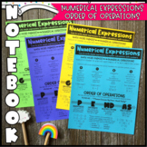Math NB: Numerical Expressions & Order of Operations (Pers
