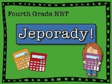 Math NBT Jeporady! Test Prep, Review, Fourth Grade