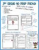 Math NO PREP Numbers & Operations Fractions - Grade 3