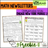 Math Newsletter & Game 4th Grade Module 2 Engage NY Math