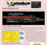 Math Newsletter for parents