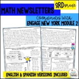 Math Newsletters & Games 3rd Grade Module 2 Engage New York