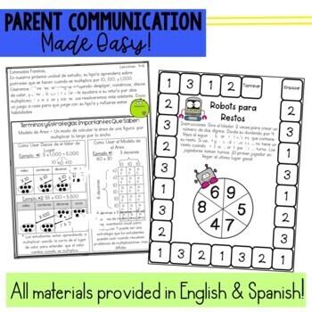 Math Newsletters & Games 4th Grade Module 3 Engage New York/ Eureka Math