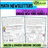 Math Newsletters & Games 4th Grade Module 6 Engage New Yor