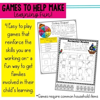 Math Newsletters & Games Module 7 Engage New York 3rd Grade