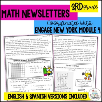 Math Newsletters and Games Module 4