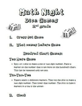 Math Night - Presentation