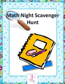 Math Night Scavenger Hunt