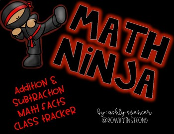 Math Ninja - Fact Fluency Tracker