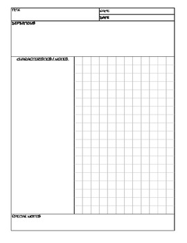 math note taking templates by elias robles iii tpt