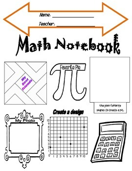 Math Notebook Cover