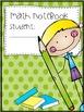 Math Notebook & Math Journal Covers..Interactive Notebooks
