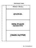Math Notebook Foldable