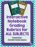 FREEBIE Interactive Notebook Grading Rubric (All Subjects)