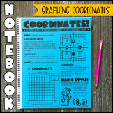 Math Notebook: Graphing Coordinates (Personal Anchor Chart)
