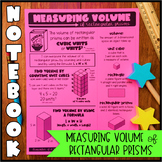 Math Notebook: Measuring Volume of Rectangular Prisms (Per