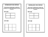 Math Notebook - Multiplication Box Method (Area Method)