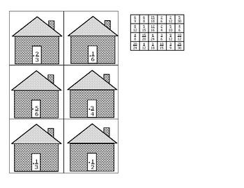 Fraction Mini Set: Equivalent or Not Equivalent Worksheet | Fun ...