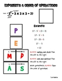 Math Notebook - PEMDAS
