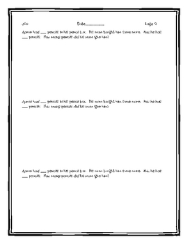 Math Notebook Prompts