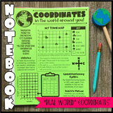 Math Notebook: Real World Coordinates (Personal Anchor Chart)