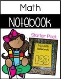 Math Notebook Starter