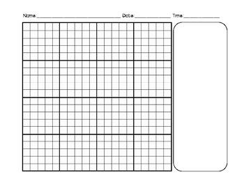 Math Notebook template