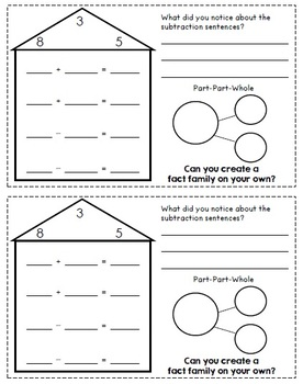 Math Notebooks: Addition and Subtraction Bundle