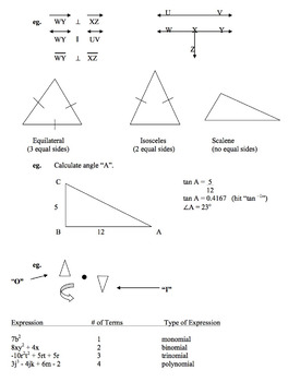 Math Notes Content (complete)