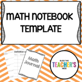 Math Notes Template