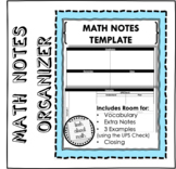 Math Notes Template