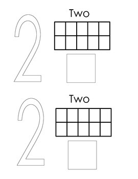 Math Number Book 1-5