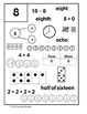 Math Number Boxes 0 - 20