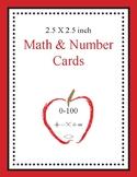 Math & Number Cards (Apple)