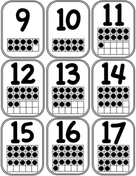 Math Number Cards FREE PRINTABLE