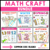 Math Number Craft Bundle