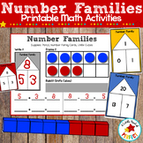 Math Number Family Houses