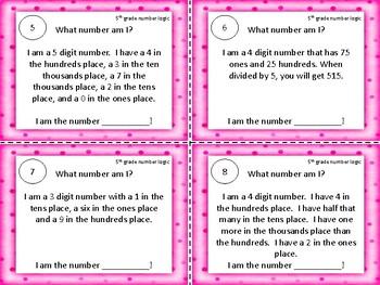 Math Number Logic  FREE