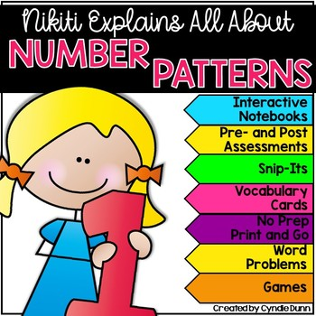 Number Patterrns Skip Counting Math Activities