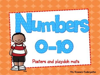 Math Number Posters 0-10