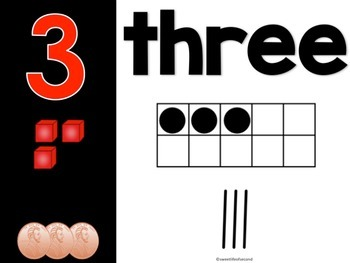 Math: Number Posters 1-20